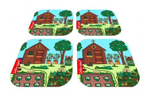 Selina-Jayne Allotment Limited Edition Designer Coaster Gift Set
